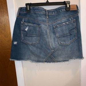 women's jean skirt